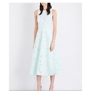 Ted Baker  Mint Green Roshi Burn Out Lace 8